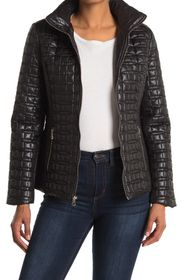 kate spade new york Quilted Zip Puffer Jacket