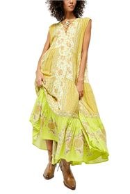 Free People Hanalei Bay Lace-Up Maxi Dress