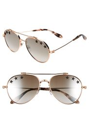Givenchy 58mm Star Aviator Sunglasses