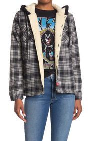 Dickies Faux Fur Lined Plaid Jacket