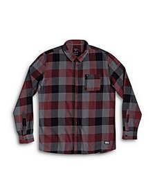 Quiksilver - Boys' Motherfly Flannel Shirt - Big K