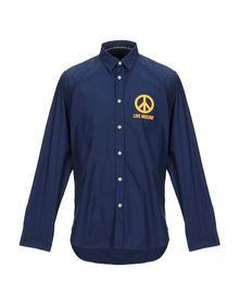 LOVE MOSCHINO - Solid color shirt