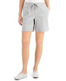 Knit Shorts, in Regular & Petite, Created for Macy
