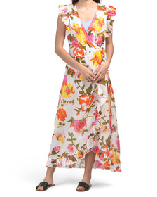 Rosa Floral Cover-up Dress