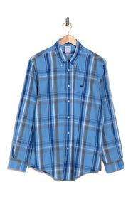 Brooks Brothers Bold Plaid Print Regular Fit Shirt