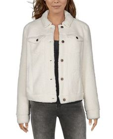 Natural Reflections Sherpa Jean Jacket for Ladies