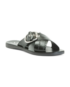 Made In Italy Leather Sandals