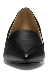 Cole Haan Dellora Leather Block Heel Loafer