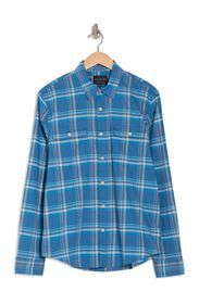 Lucky Brand Plaid Stretch Fit Shirt
