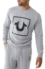 True Religion Long Sleeve Horseshoe Crewneck