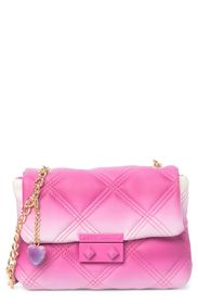 Betsey Johnson Ellie Quilted Crossbody
