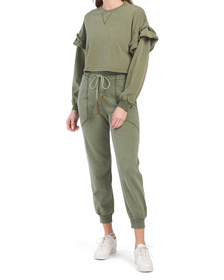 Garment Washed Olive Collection