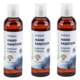 Instant Hand Sanitizer - 4 Oz (3-Pack)