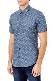 Ben Sherman FADED SQUARE PRINT