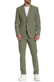 Perry Ellis Solid Very Slim Fit Performance Tech S