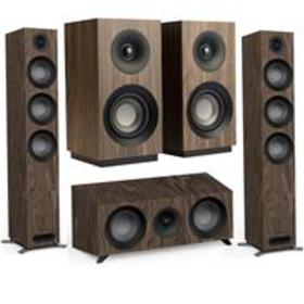 Jamo 2x S 809 Floorstanding Speakers with Bookshel