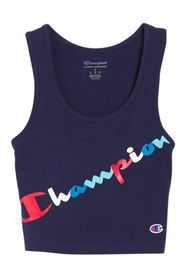 Champion Authentic Logo Crop Top
