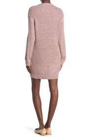 RED Valentino Cable Knit Sweater Dress