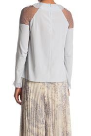 RED Valentino Dot Sleeve Panel Top