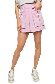 Free People West Coast Wash Mini Skirt