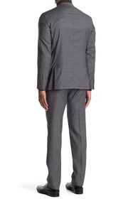 Cole Haan Two Button Notched Lapel Trim Fit Suit