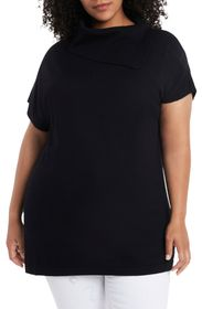 Vince Camuto Foldover Neck Sweater