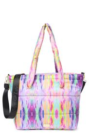 Betsey Johnson Bravert Quilted Weekend Tote Bag