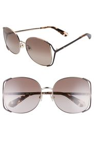 kate spade new york emylee 59mm oversized sunglass