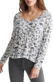 Lucky Brand Flirty Knit Top