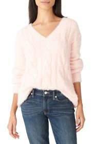 Lucky Brand Eyelash Cable Sweater