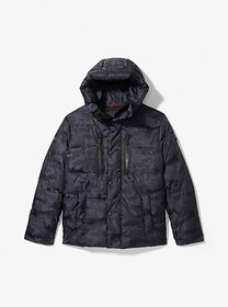 Michael Kors Camouflage Quilted Puffer Jacket