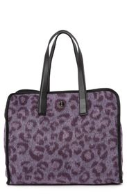 kate spade new york morley leopard large tote bag