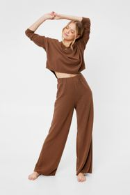 Nasty Gal Chocolate Recycled Quilt For Success Wid