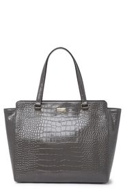 kate spade new york bristol drive croc embossed el