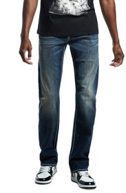 True Religion Ricky Big Flap Straight Leg Jeans