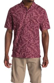 Tommy Bahama Sport Leafbacker Printed Polo