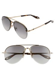 Givenchy 62mm Aviator Glasses