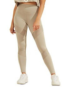 Mesh-Inset Leggings