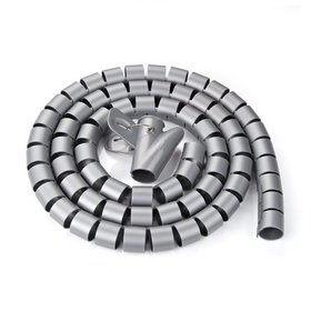 25mm Flexible Spiral Tube Cable Wire Wrap Computer