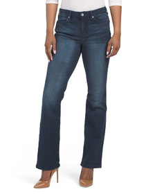 High Waisted Slimming Bootcut Jeans