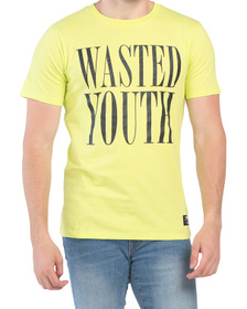 Wasted Youth Neon Short Sleeve Tee