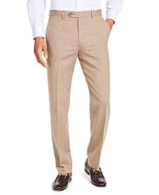 Men's Classic-Fit UltraFlex Stretch Textured Suit