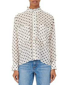 Maje - Catherina Polka Dot Blouse