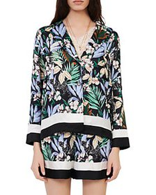 Maje - Cioni Printed Satin Shirt