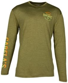 Cabela's Space Dye Performance Long-Sleeve T-Shirt