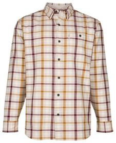 Bob Timberlake Heather Plaid Woven Long-Sleeve Shi