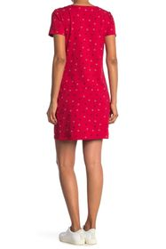 Tommy Hilfiger The Circle Print Lace-Up Shirt Dres