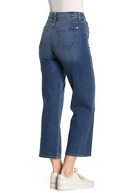 7 For All Mankind Cropped Wide Leg Jeans