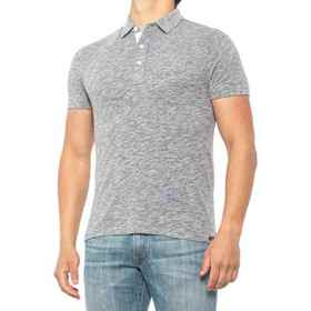 Faherty Heather Polo Shirt - Short Sleeve (For Men