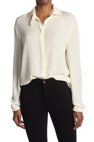 Valentino Silk Long Sleeve Blouse